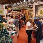 Shopping at Quilt Show Birmingham